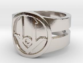 Ring Design ACE 01 in Platinum