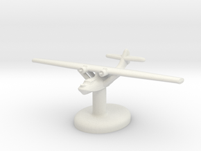 PBY Catalina w/ stand (U.S.) GW1936 in White Natural Versatile Plastic