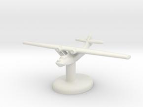 PBY Catalina w/ stand (U.S.) GW1936 in White Natural Versatile Plastic