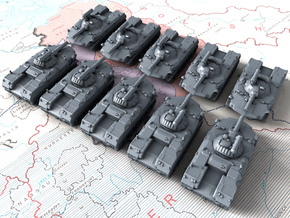 1/600 Russian BMD-1 AFV (In-Flight Suspension) x10 in Smoothest Fine Detail Plastic