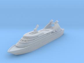 Miniature Seabourn Legend Ship (Star Legend) -10cm in Smooth Fine Detail Plastic