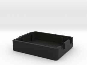 Casing Arduino UNO(Bottom) in Black Natural Versatile Plastic