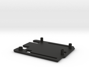 Casing Arduino UNO(Top) in Black Natural Versatile Plastic