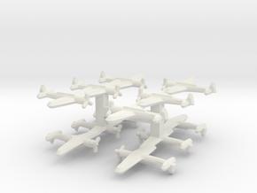 C6M Myrt 1/900 (Triplet) x4 in White Natural Versatile Plastic