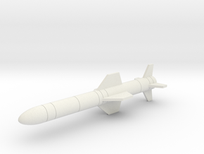 AGM-84 Harpoon in White Natural Versatile Plastic