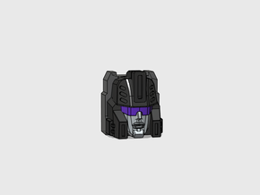 Target Supervisor's Face G1 toy/Headmasters Cartoo in Smooth Fine Detail Plastic