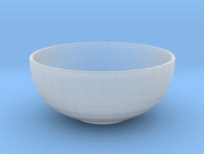 1:12 Bowl in Smooth Fine Detail Plastic