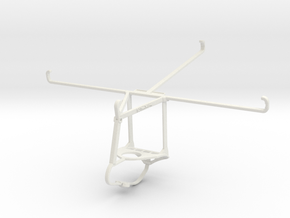 Controller mount for Nimbus & Apple iPad 3 Wi-Fi - in White Natural Versatile Plastic