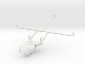 Controller mount for Nimbus & Apple iPad mini Wi-F in White Natural Versatile Plastic