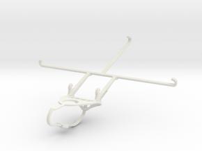 Controller mount for Nimbus & Apple iPad mini 4 -  in White Natural Versatile Plastic
