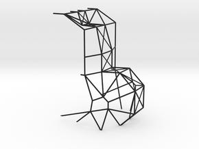 1/24 Mid section rod structure in Black Premium Versatile Plastic