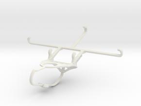 Controller mount for Nimbus & Apple iPhone 6s Plus in White Natural Versatile Plastic
