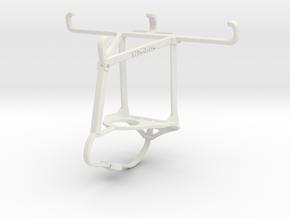Controller mount for Nimbus & Apple iPhone 5c - To in White Natural Versatile Plastic