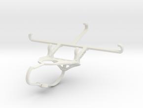Controller mount for Nimbus & Apple iPhone 7 - Fro in White Natural Versatile Plastic