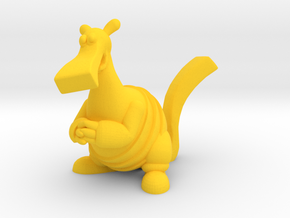 Bac Figurine in Yellow Strong & Flexible Polished: Large