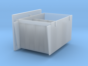 1 to 25 2 cm Ammo boxes in Smooth Fine Detail Plastic