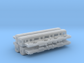 N Gauge D78 Underground Kit in Smooth Fine Detail Plastic