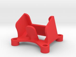 Camera Mount - 16mm/28 degree in Red Processed Versatile Plastic