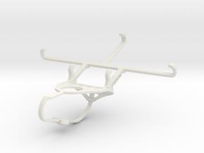 Controller mount for Nimbus & Apple iPhone X - Fro in White Natural Versatile Plastic