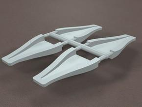 1/8 scale 3 inch NACA ducts in White Strong & Flexible