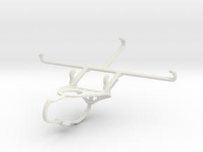 Controller mount for Nimbus & Apple iPhone 7 Plus  in White Natural Versatile Plastic