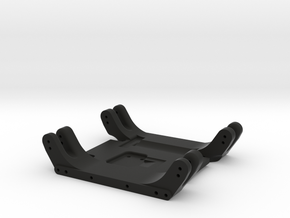 AXIAL WRAITH FLAT SKIDPLATE in Black Natural Versatile Plastic