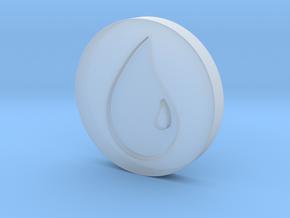 Island Token in Smooth Fine Detail Plastic