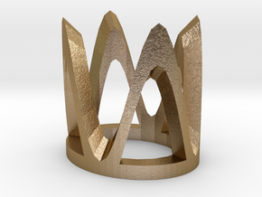 "(SMALL) STAND for RelicMaker's ""Lao Che's Diamond"" in Polished Gold Steel"