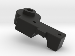 Tamiya RC (Part J-2) Right Upper Shock Mount for V in Black Natural Versatile Plastic