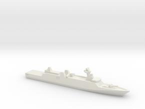 Sigma 10513 Corvette, 1/700 in White Natural Versatile Plastic