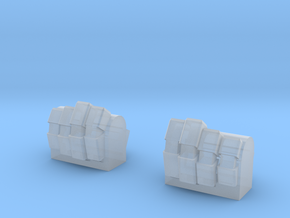 Knuckles for MG Wing Kits in Smooth Fine Detail Plastic