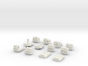 MG Wing Expressive Hands VALUE PACK in White Natural Versatile Plastic