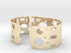 Circles bracelet in 14K Yellow Gold