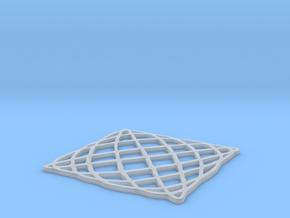 Lissajous Coaster 5:6 pi/2 in Smooth Fine Detail Plastic