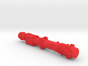 1-50 Dieselhammer D62 Basic in Red Processed Versatile Plastic