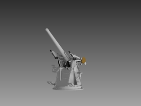 "6 x QF 3"" 20 cwt AA Gun 1/160 in Smooth Fine Detail Plastic"