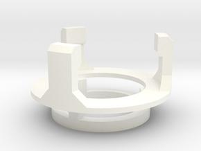 DM1 - Part 5/5 Speakerholdertop 20mm in White Processed Versatile Plastic