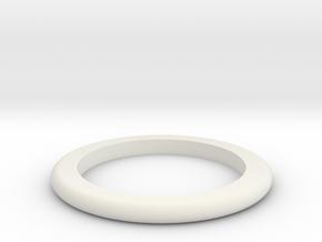 DM1-Ring 3.0mm in White Natural Versatile Plastic