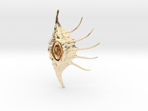LambisNecklance in 14k Gold Plated Brass