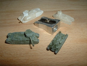 TOG & Independent Heavy Tanks 1/200 in Frosted Ultra Detail