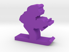 Game Piece, Arctic Trooper in Purple Processed Versatile Plastic