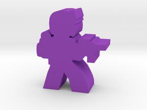 Game Piece, SNAKE Trooper in Purple Processed Versatile Plastic