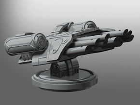 Banisher Missile Launcher in Smooth Fine Detail Plastic