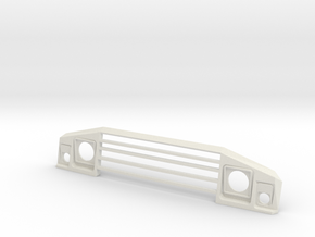 UMM Alter Front Grill in White Natural Versatile Plastic: 1:8