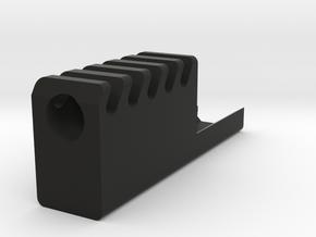 Frame Mounted Pistol Compensator for G17 and G18c in Black Premium Versatile Plastic