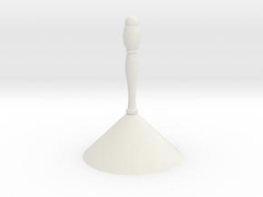 perfume sampling cone in White Natural Versatile Plastic