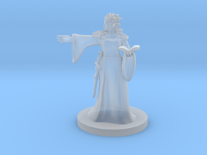 Forest Fey Mage in Smooth Fine Detail Plastic