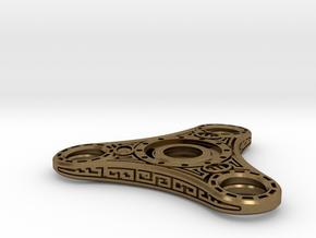 "Skyrim ""Dwemer"" style Fidget Spinner - metal R188  in Natural Bronze"