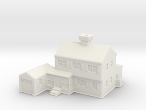 Glen_Christmas_Village_House in White Natural Versatile Plastic