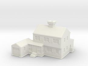 Glen_Christmas_Village_House in White Natural Versatile Plastic